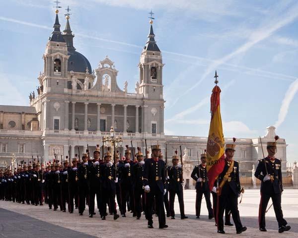 Grupos oposiciones Guardia Real