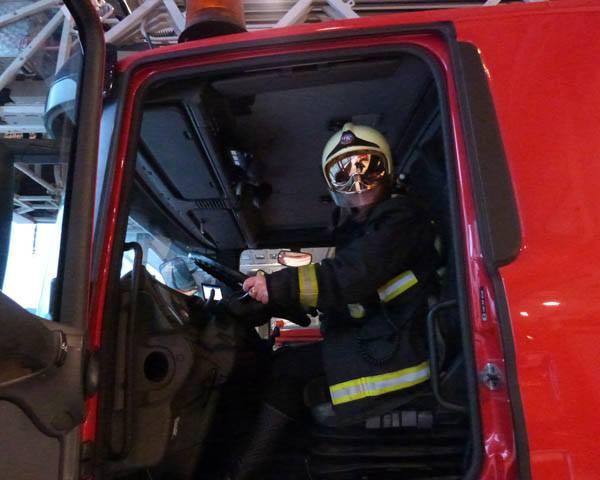Requisitos bombero conductor