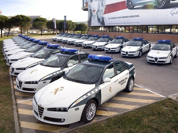 coches guardia civil