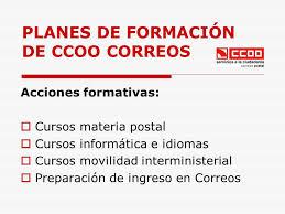 Cursos CCOO Comisiones Obreras 2015