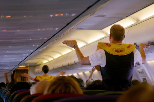 Ser azafata vuelo