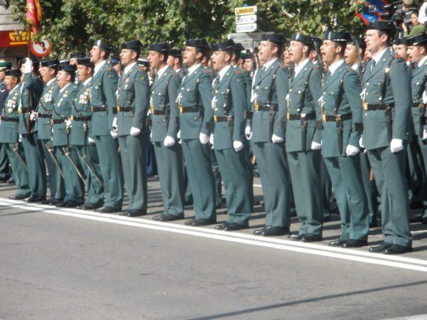 Cuantas plazas guardia civil
