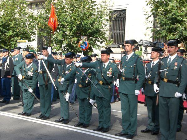 Guardia Civil desfile militar