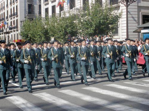 Guardia Civil desfile