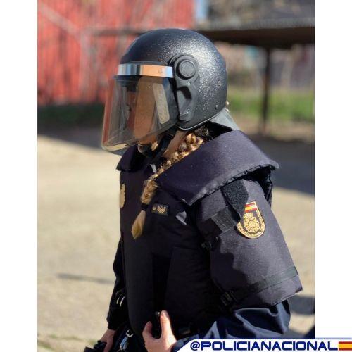 Policía Nacional antidisturbios