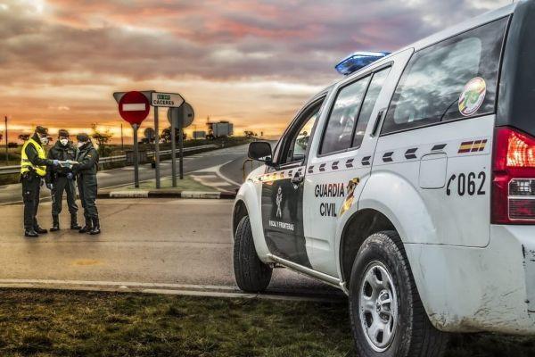 Coche Guardia Civil