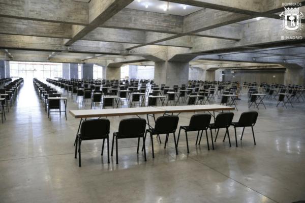Temario de Bombero 2022 sala de examen