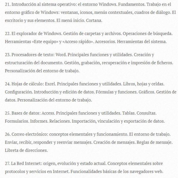 Oposiciones auxiliar administrativo 2022 temario 4