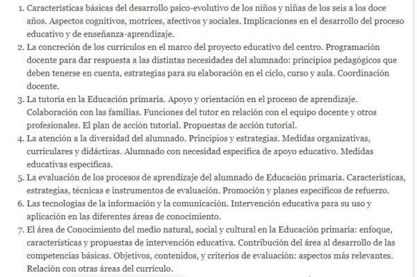 Oposiciones maestros 2022 temario 1