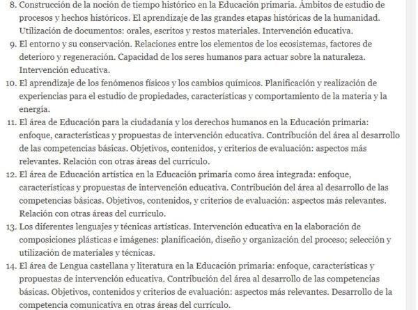 Oposiciones maestros 2022 temario 2