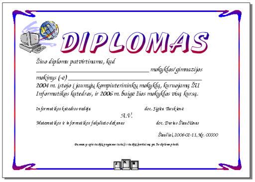 Certificados De Diplomas Gratis