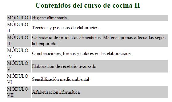 Cursos De Cocina Profesional | Cursos De Cocina Madrid 2018 Gratis Cursosmasters