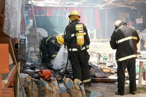 Pruebas bombero 2013