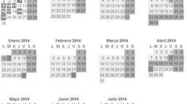 Calendario Escolar Curso 2019 -2019 | España
