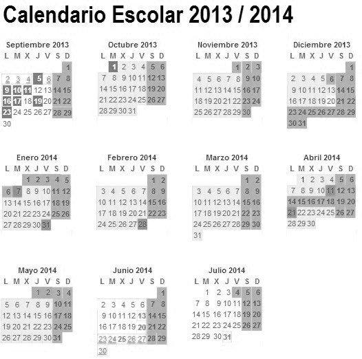 Calendario 2020 Pais Vasco.Calendario Escolar Curso 2019 2019 Espana Cursosmasters