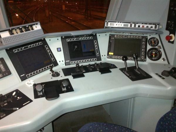 cabina de tren