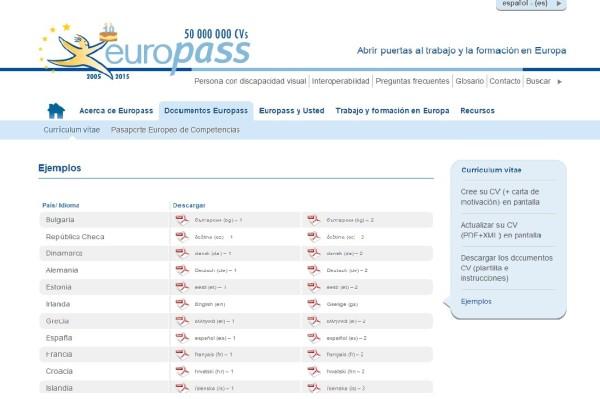 curriculum-europeo-europass-cv-de-otros-paises