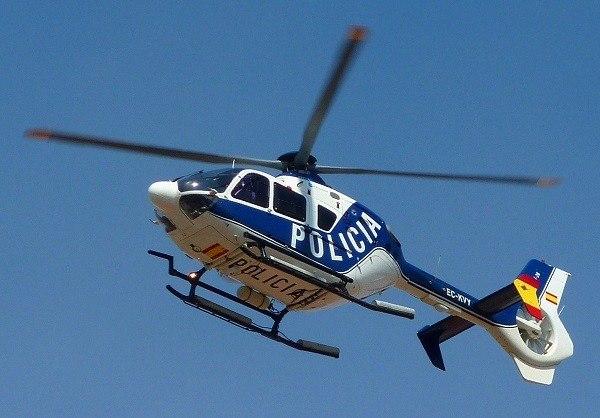 policia nacional helicoptero